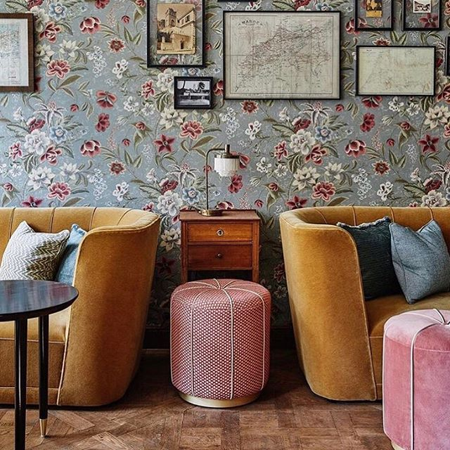can't wait to be back here in May 😍 you'll find me with a glass of red wine sitting on one of these velvet couches 🍷 (@thehoxtonhotel #thehoxtonparis)