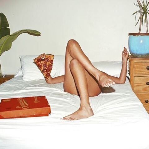 Wednesday night plans...🍕
