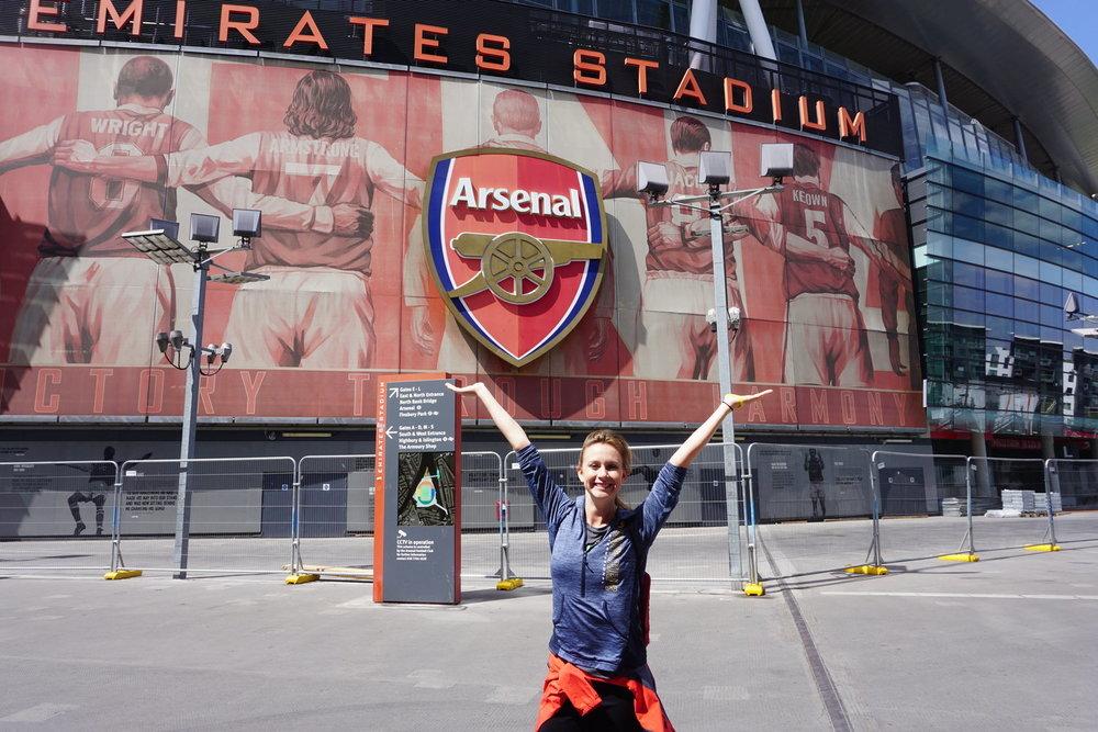 Living Sport London Arsenal Tina Schirmeister.JPG
