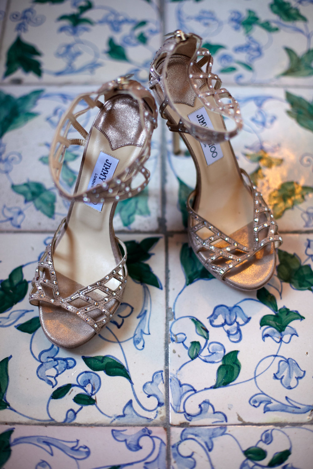 Shoe Details - Ravello, Italy - Summer Wedding - Julian Leaver Events