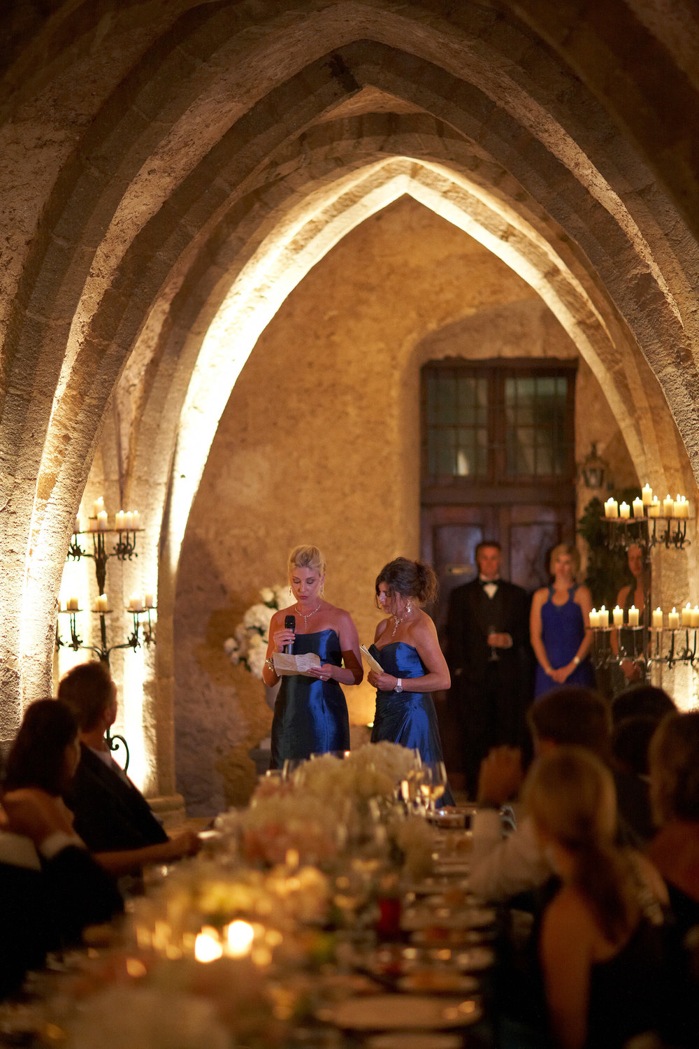 Reception Details - Ravello, Italy - Fall Wedding - Julian Leaver Events