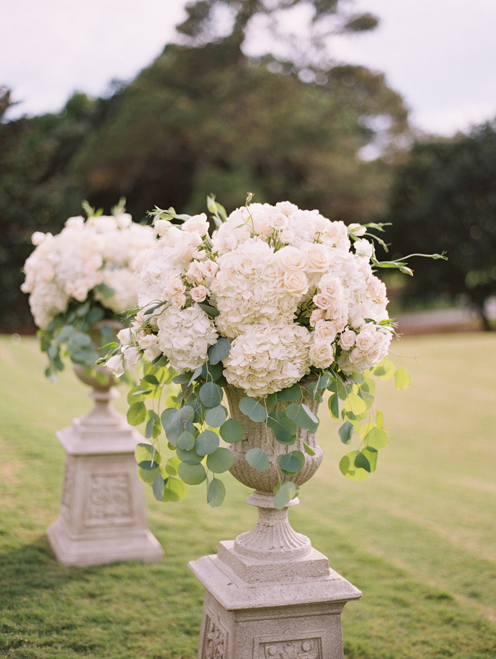 Flower Details - Kiawah Island, South Carolina - Fall Wedding - Julian Leaver Events