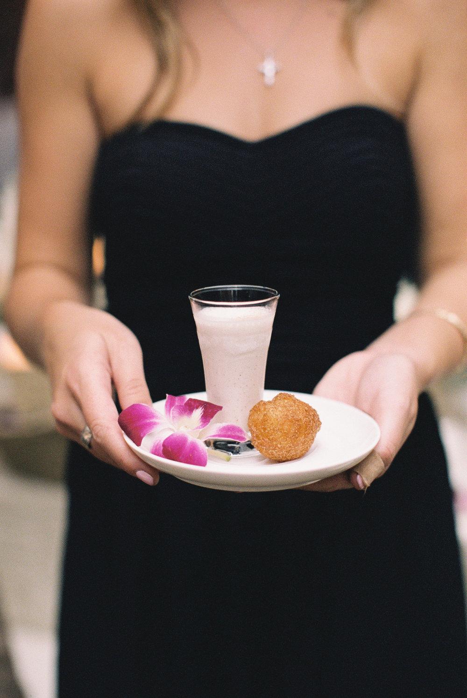 Food Details - Kiawah Island, South Carolina - Fall Wedding - Julian Leaver Events