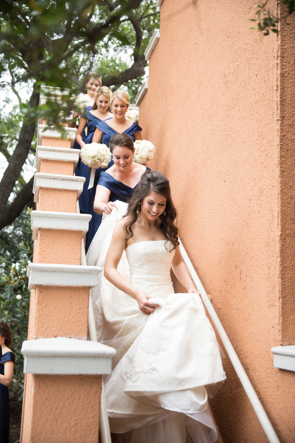 Bridesmaid Details - Dallas, Tx - Spring Wedding - Julian Leaver Events