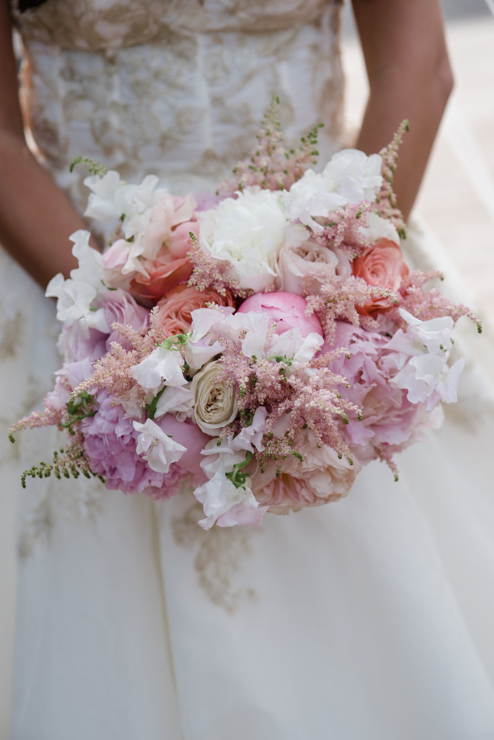 Bouquet Details - Dallas, Tx - Spring Wedding - Julian Leaver Events