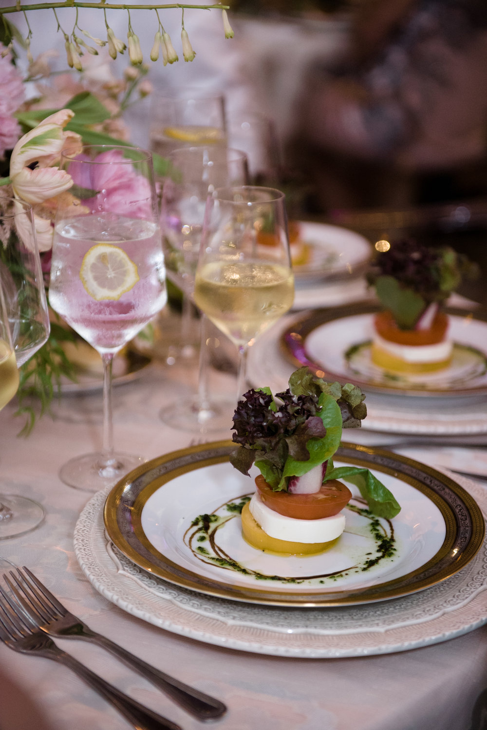 Food Details - Dallas, Tx - Spring Wedding - Julian Leaver Events