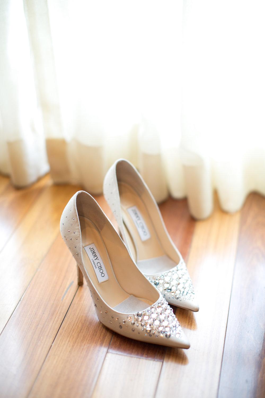 Shoe Details - Dallas, Tx -Spring Wedding - Julian Leaver Events