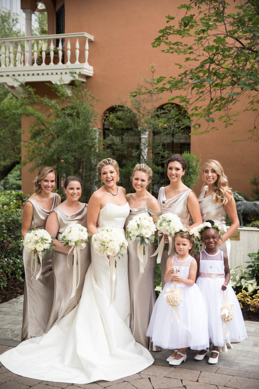 Bridesmaid Details - Dallas, Tx - Summer Wedding - Julian Leaver Events