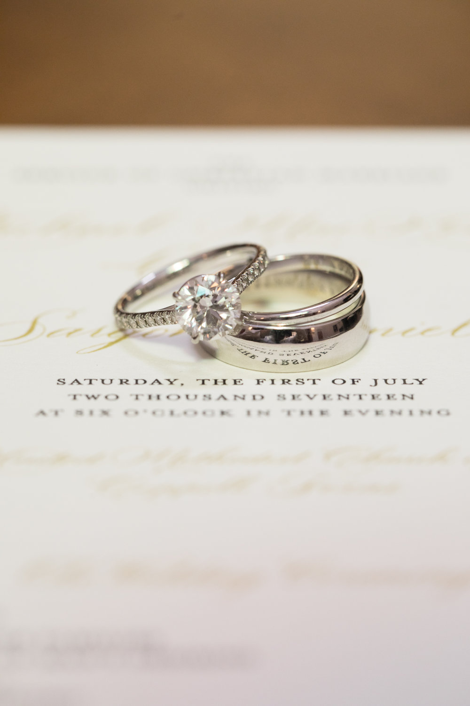 Jewelry Details - Dallas, Tx -Spring Wedding - Julian Leaver Events