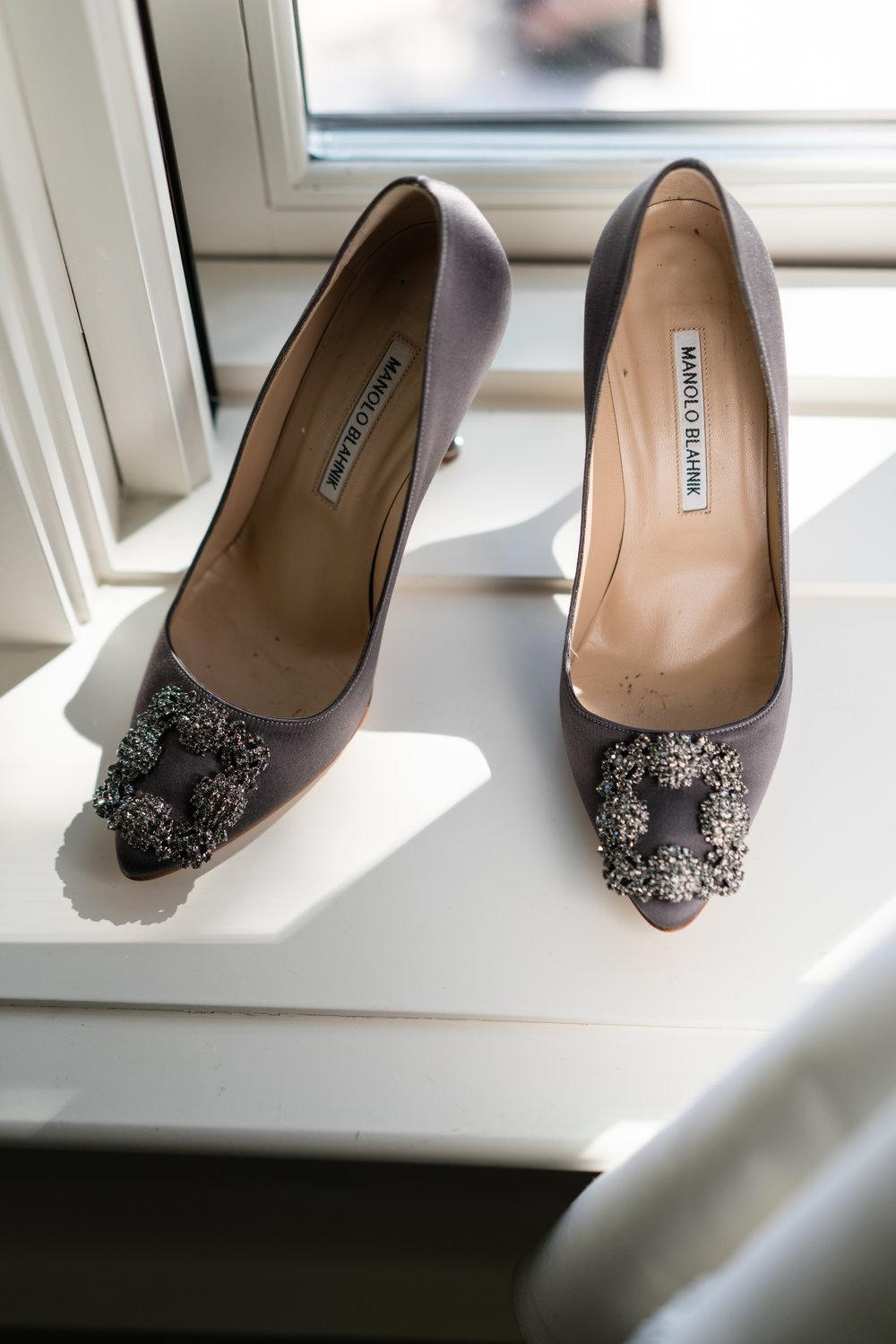 Shoe Details - Dallas, Tx - Fall Wedding - Julian Leaver Events