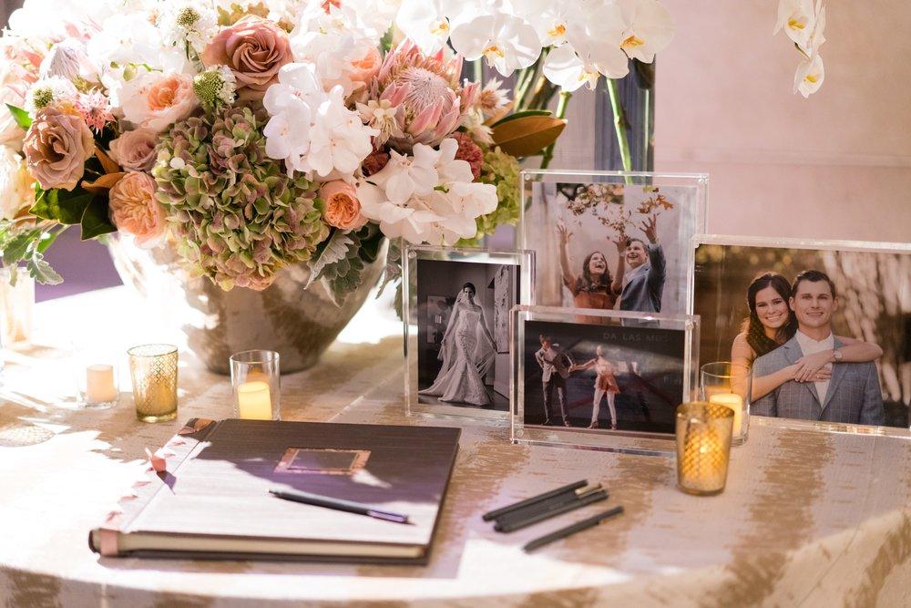 Reception Details - Dallas, Tx - Fall Wedding - Julian Leaver Events