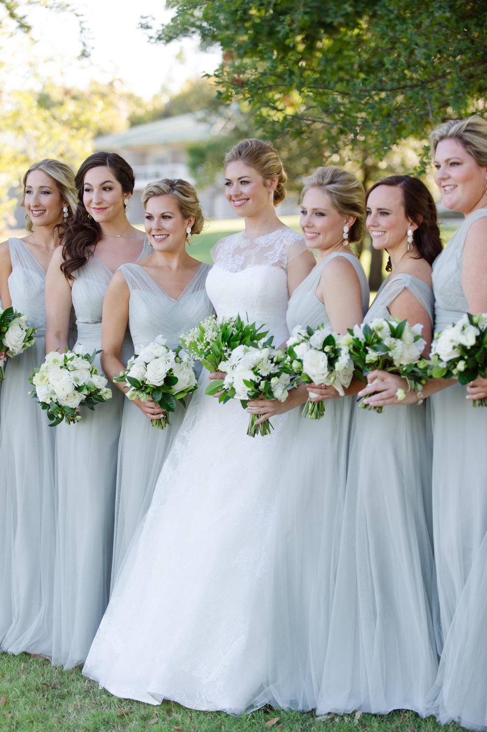 Bridesmaids Details - Dallas, Tx - Fall Wedding - Julian Leaver Events