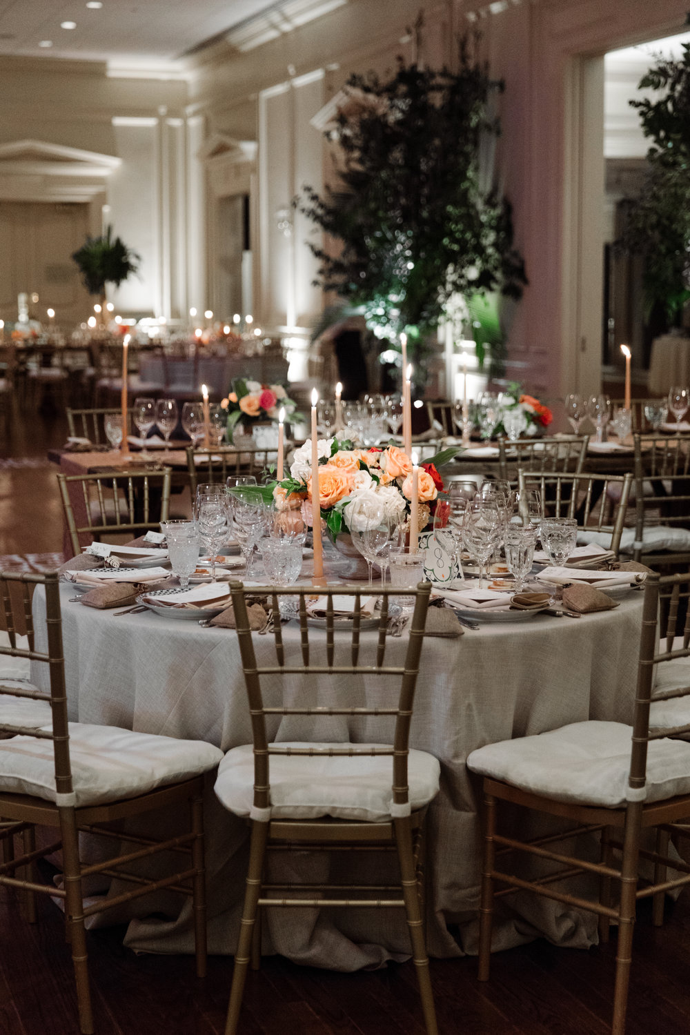 Reception Details - Dallas, Tx - Fall Wedding - Julian Leaver Events