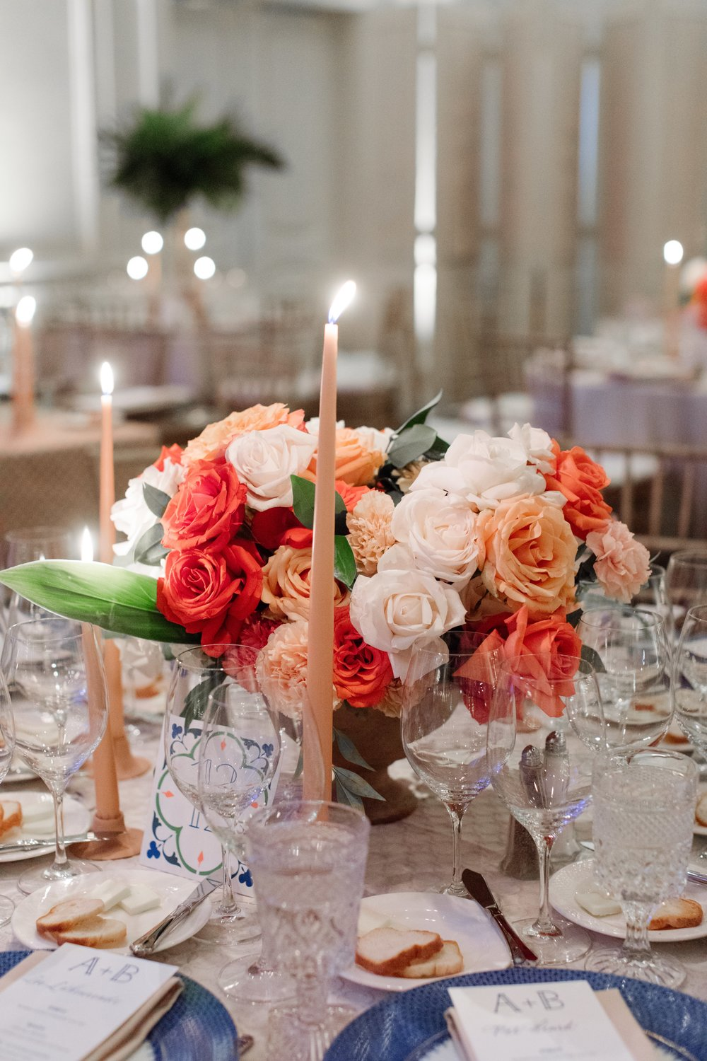 Flower Details - Dallas, Tx - Fall Wedding - Julian Leaver Events
