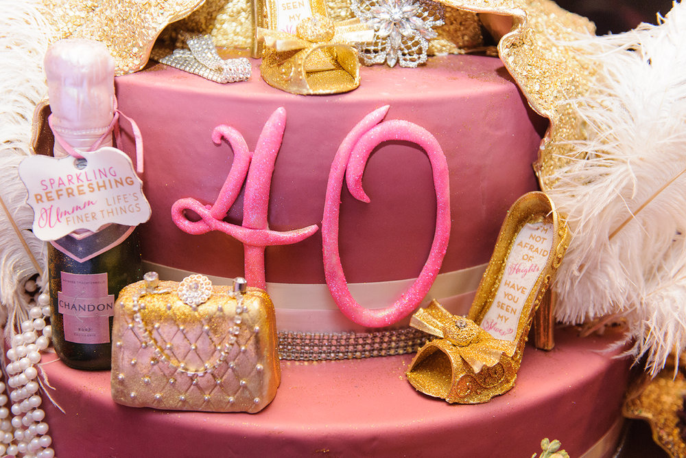Cake Details - Dallas, Tx - Fall Birthday - Julian Leaver Events