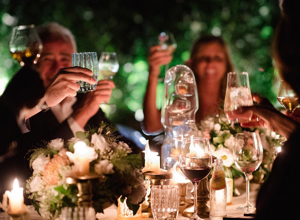 Receptopn Details - Castello Di Casole,Italy - Summer Wedding - Julian Leaver Events