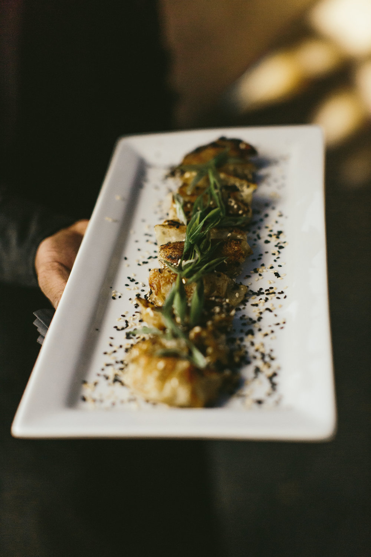 Food Details - Dallas, TX - Fall Wedding - Julian Leaver Events