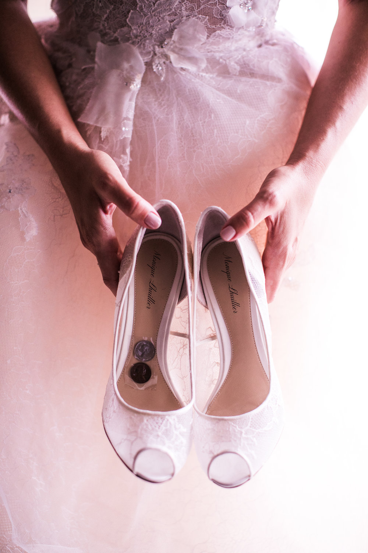 Shoe Details - Amarillo, Texas - Fall Wedding - Julian Leaver Events