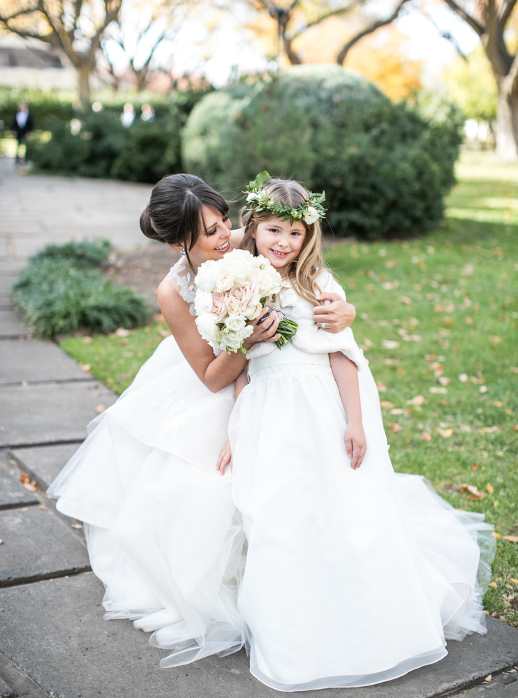 Flower Girl Details - Amarillo, Texas - Fall Wedding - Julian Leaver Events