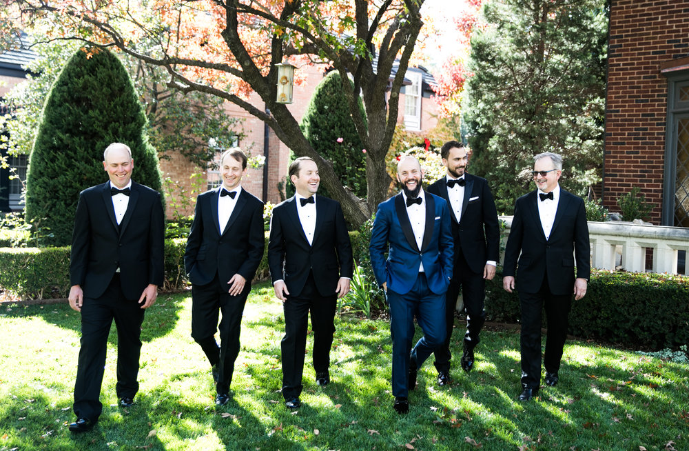 Groomsmen Details - Amarillo, Texas - Fall Wedding - Julian Leaver Events