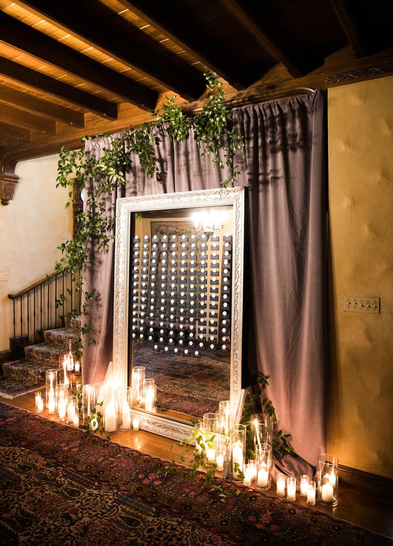 Escort Card Details - Amarillo, Texas - Fall Wedding - Julian Leaver Events