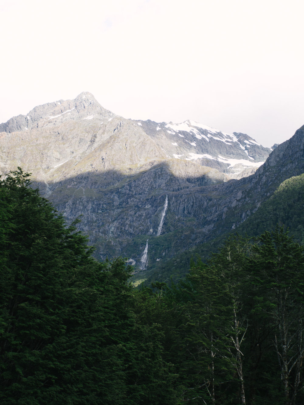 Routeburn Track Waterfall