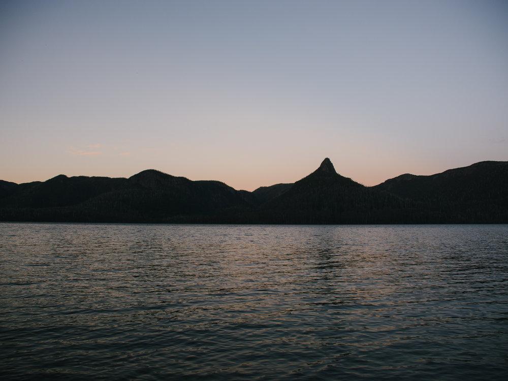 Lake St Clair Sunset