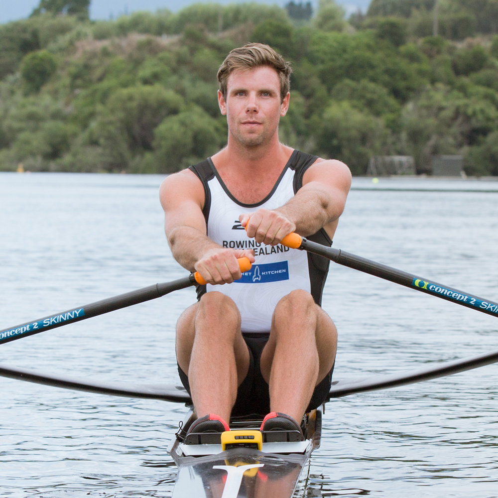 Robbie MaNson - NZ Single Champion