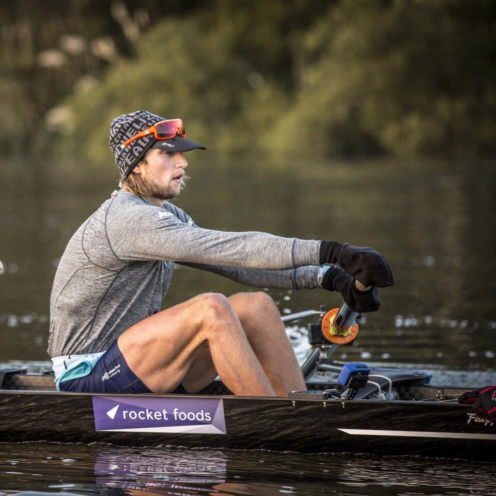 Brook Robertson - Stroke of NZ Men's 8+