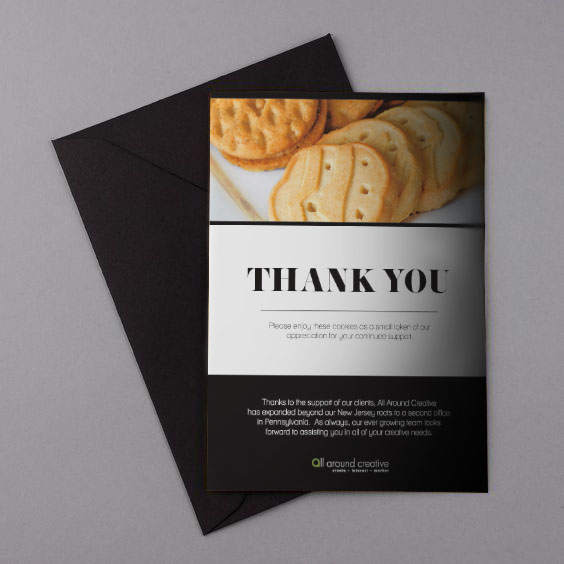 COMPANY THANK YOU CARD