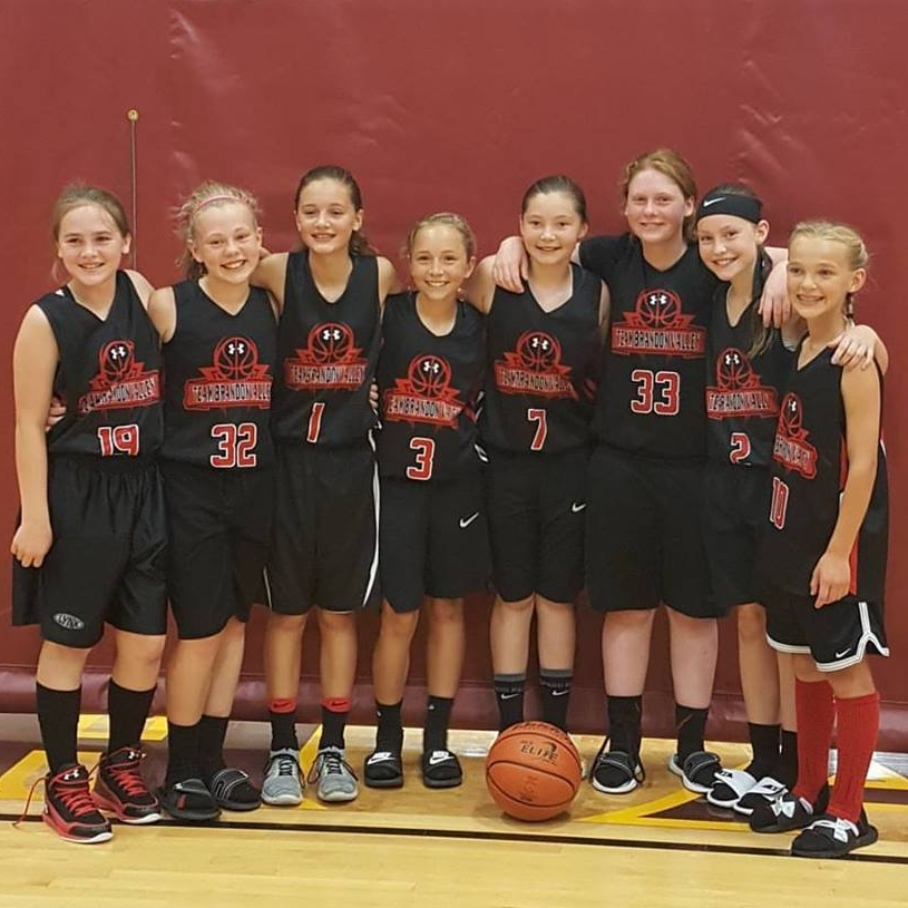The 5th grade girls team brought home the championship at the MAYB Tournament last weekend.