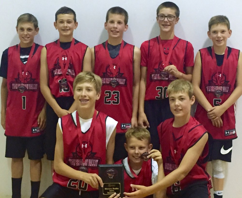 Team BV 6th graders brought home the hardware with a second place finish.
