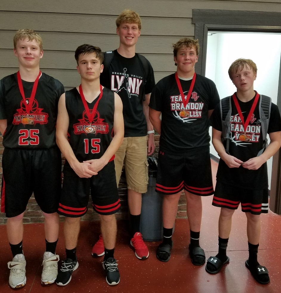 We're missing a couple of players in this photo - but wanted to recognize our 15U team for their hard-fought championship game and second place medals.
