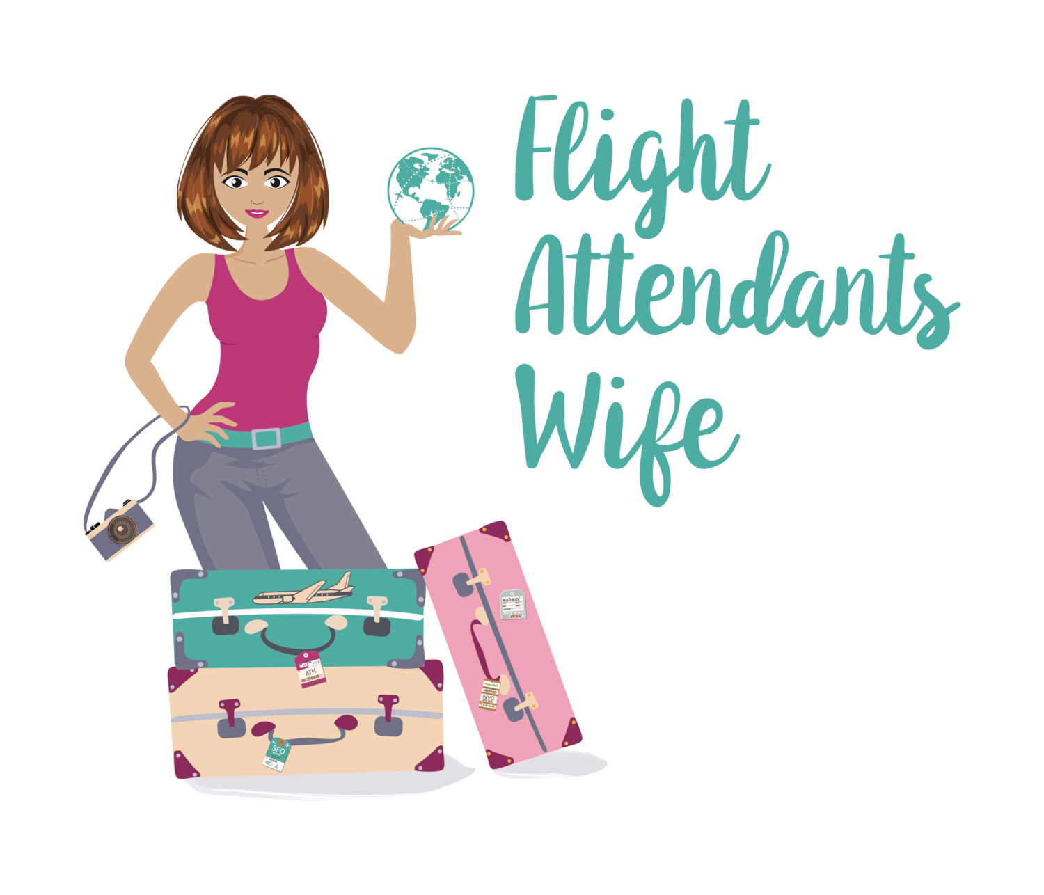 Flight Attendants Wife