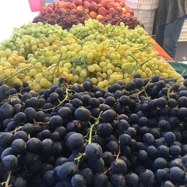 Grapes are here! #buylocal #bishopranch #sanramon #farmersmarket
