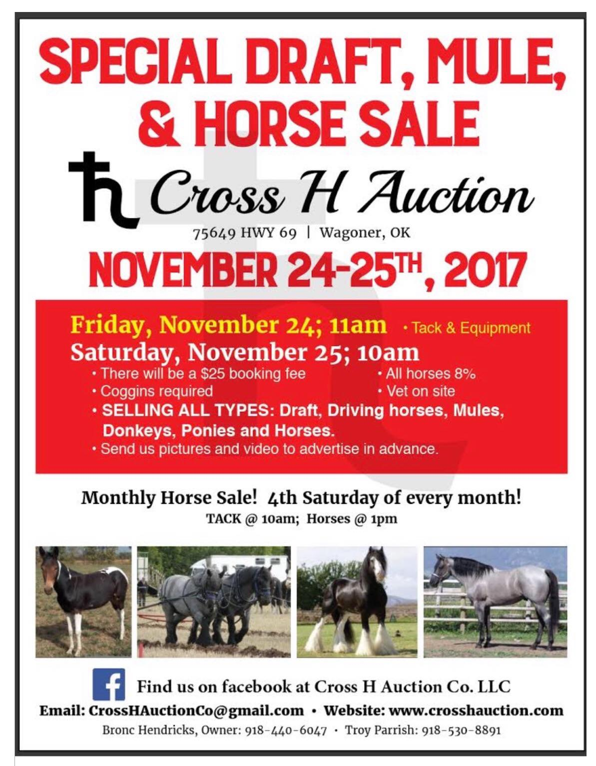 Cross H Auction
