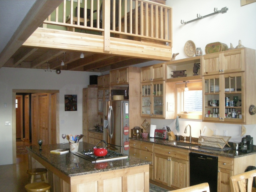 Kitchen and Island of the Allen Schmuck Residence.  This was a 2,000 ft. Addition that I had a hand in building.