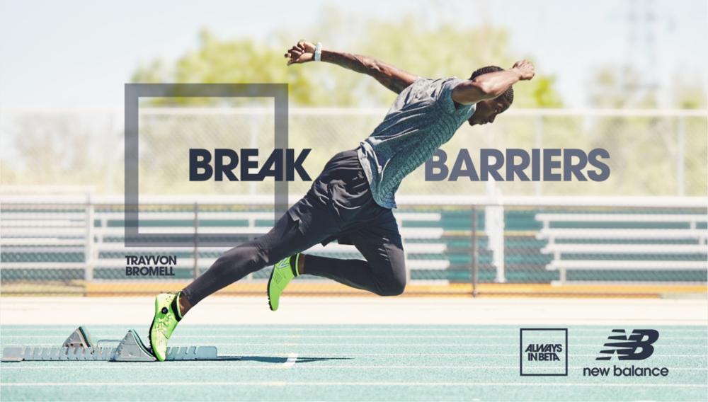 Trayvon Bromell – Hero Visual