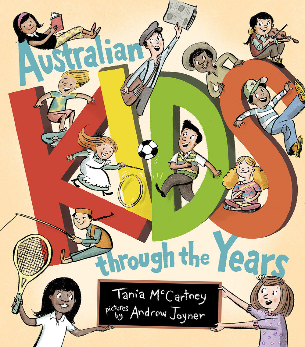 Australian kids through the years by tania mccartney