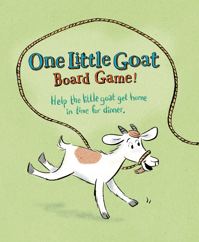 ONE LITTLE GOAT BOARD GAME