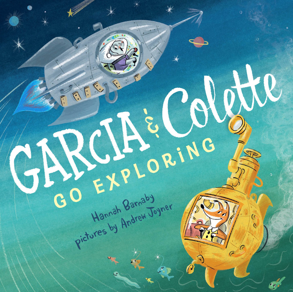 Garcia and Colette go exploring  by hannah Barnaby