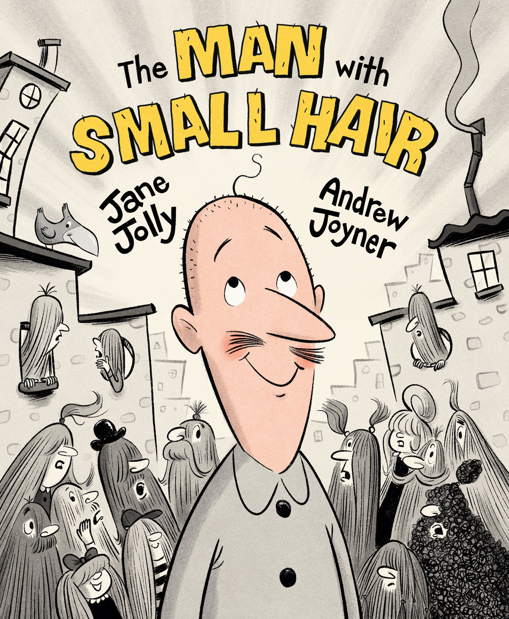 The man with small hair  by jane jolly