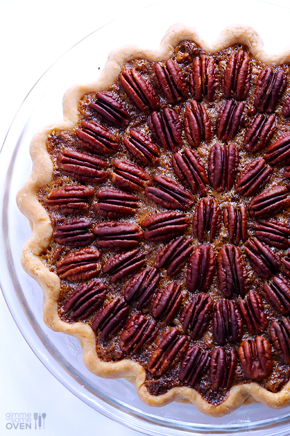 Get nutty with a pretty pecan pie! Browned butter gives this wonderful pecan pie an even more intense nutty flavor. If you're a nut for nuts (so corny), make this right away!