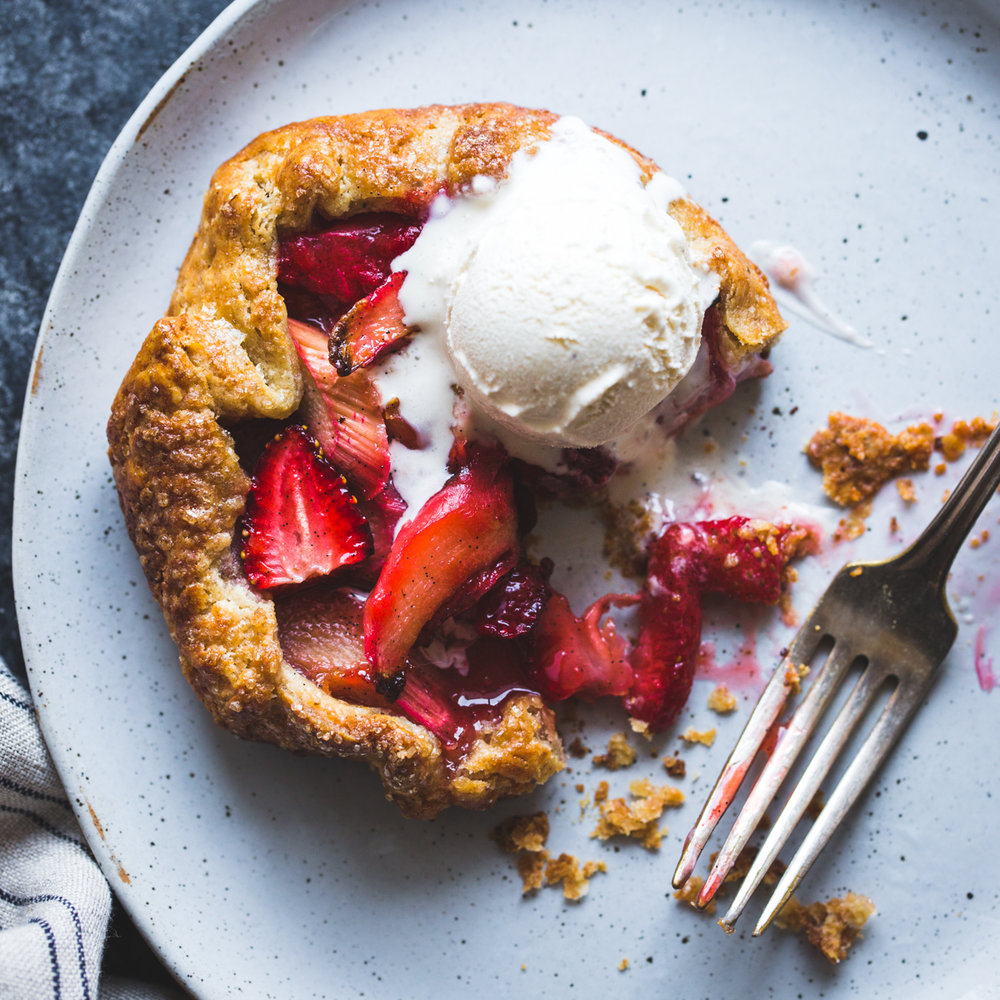 Strawberries had to make the list. What is pie without the queen berry? Combine the strawberry with rhubarb and hints of rose, and thanks the heavens.