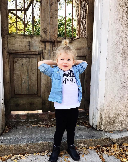 Linsey Godfrey's Daughter, Aleda (The Bold and the Beautiful)