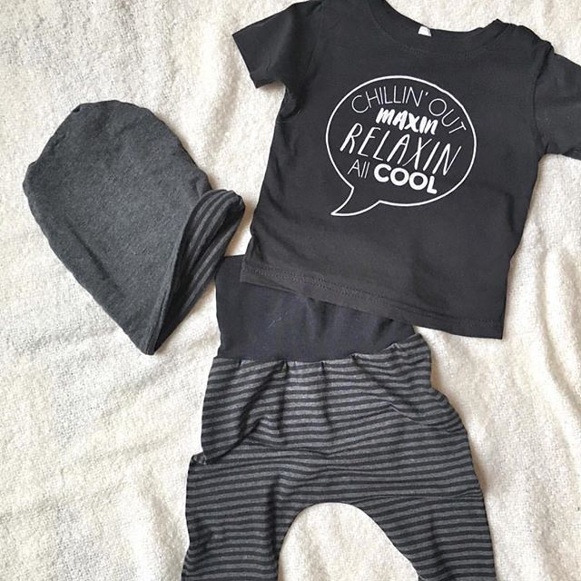 Loving how they styled our Chillin' out Maxin' tee. Sooo cute! Thanks for sharing!
