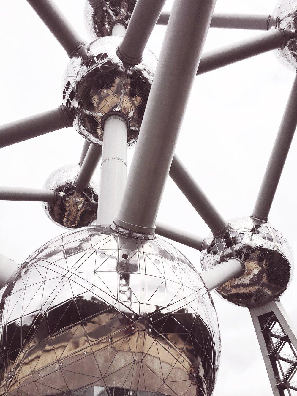 Atomium.Belgium.07.2017