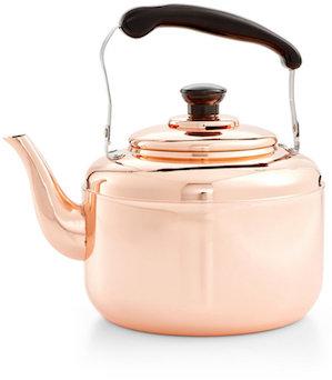 MARTHA STEWART COLLECTION HEIRLOOM COPPER TEA KETTLE