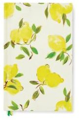 KATE SPADE NEW YORK WORD TO THE WISE LEMON JOURNAL