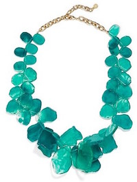 BAUBLEBAR 'SEAGLASS' BIB NECKLACE